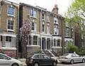 Clematis on house in Loftus Road - geograph.org.uk - 1839226.jpg