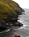 Cliffs at Tintagel - geograph.org.uk - 217089.jpg