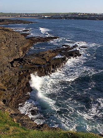 Kilkee - Kilkee cliffs