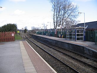 Clitheroe railway station - Clitheroe railway station