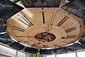 Clock replica on ceiling of second floor -- Kalamazoo Valley Museum 081 (6926494145).jpg