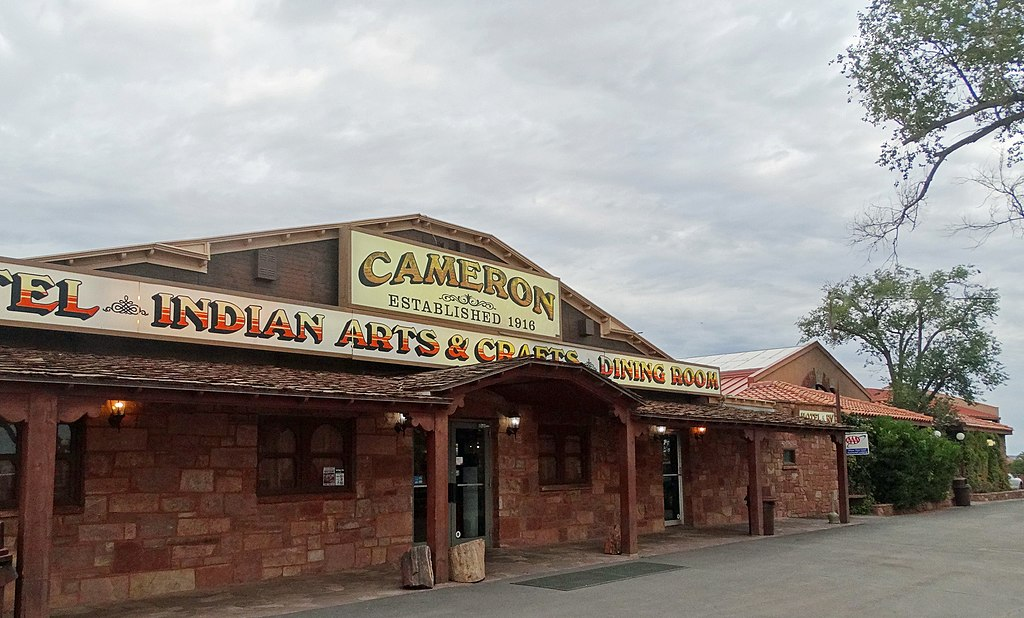 Cloudy Morning at Cameron Trading Post, Navajo Nation AZ 2015 (32249453114)
