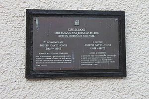 Joseph David Jones - Image: Clwyd Bank Rhuthun Stryd Clwyd Street 01