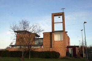 Bar Hill - Image: Cmglee Bar Hill church