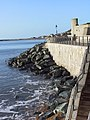 Coastal defences at Lyme Regis - geograph.org.uk - 484059.jpg