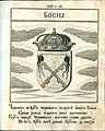 Coat of Arms of Bosnia from Stemmatographia by Hristofor Zhefarovich (1741).jpg
