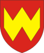 Coat of Arms of Vałožyn, Belarus.png