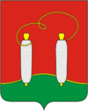 Coat of Arms of Vysokovsk (Moscow oblast) (1997).png