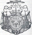 Coat of arms, Guillame cardinal Dubois.png