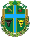 Coat of arms of Novoselytsia Raion.png