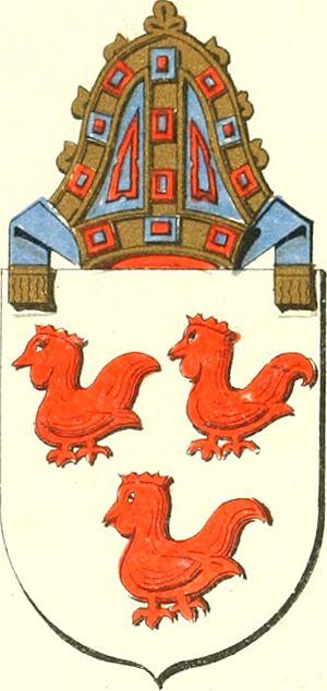 Robert Cockburn - Coat of arms of Robert Cockburn