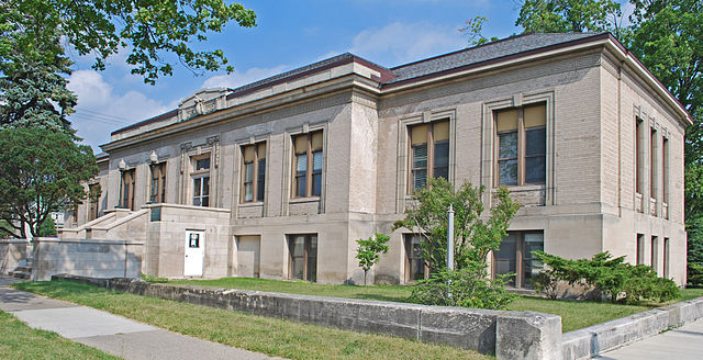 Cadillac (MI) United States  city images : Cobbs and Mitchell Building Cadillac MI A Wikimedia Commons