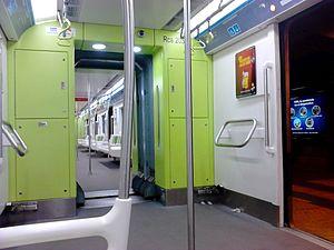 Buenos Aires Underground 200 Series - Image: Coche CNR