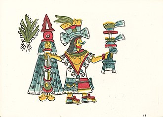 Mayahuel - Image: Codex Magliabechiano (folio 58r)