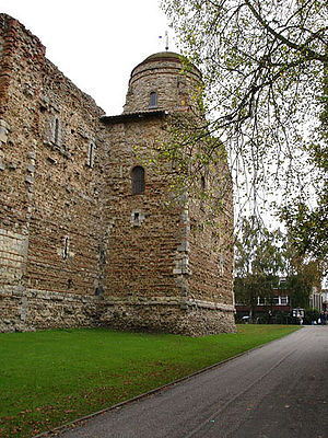 Siege of Colchester - Image: Colchester Castle 1