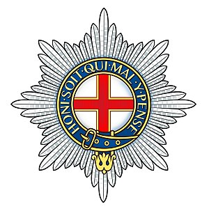 Foot Guards - Regimental badge of the Coldstream Guards.