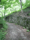 Colico Forte Fuentes the path up to the ruins.png