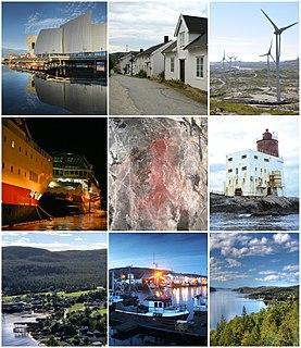 Nærøysund Municipality in Trøndelag, Norway