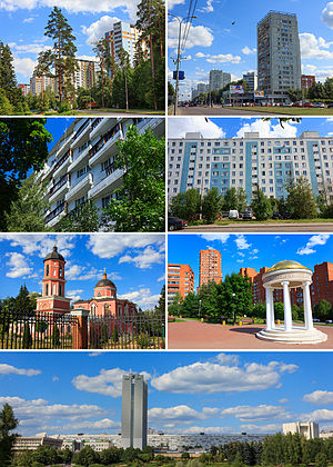 Zelenograd - Views of Zelenograd