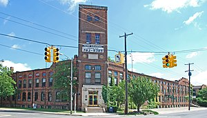 National Register of Historic Places listings in Jackson County, Michigan - Image: Collins Manufacturing Jackson Automobile Company Complex