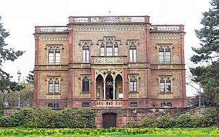 Colombischlössle Freiburg building in Freiburg im Breisgau, Freiburg Government Region, Bade-Württemberg, Germany