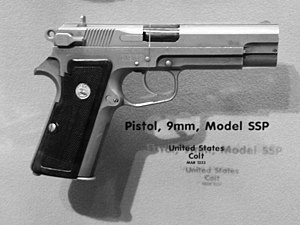 Joint Service Small Arms Program - Colt Stainless Steel Pistol