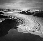 Columbia Glacier, Calving Terminus with Oblique View of Valley Glacier, September 3, 1971 (GLACIERS 1173).jpg