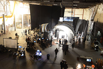Culver Studios - Commercial Shoot on stage 3 of Culver Studios