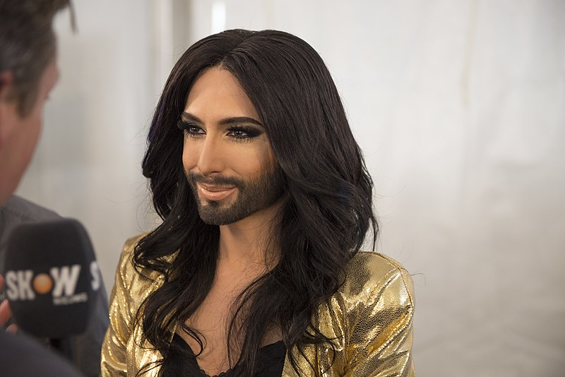 File:Conchita Wurst, ESC2014 Meet & Greet 17.jpg
