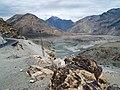 Confluence Indus & Gilgit rivers where 3 mountain ranges meet.jpg