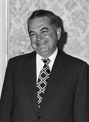 Constantin Dăscălescu - Constantin Dăscălescu in 1983