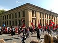 Constitution Day parade passing by the Domus Bibliotheca, University of Oslo - 20090517-04.jpg