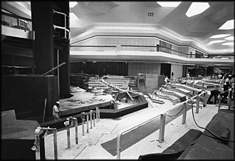 Lakeforest Mall - Lakeforest Mall construction in 1978