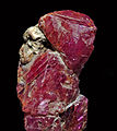 Corindons rose et pourpre (20 mm) var. rubis (Pakistan).JPG