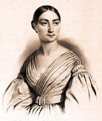 Cornélie Falcon - Cornélie Falcon in 1835