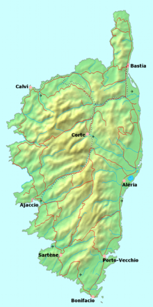 Corsica Travel Guide At Wikivoyage