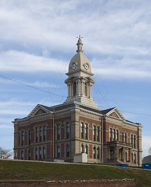 Wabash, Indiana - Wabash County Courthouse
