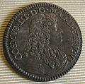 Cosimo III granduke of tuscany coins, 1670-1723, testone 1677.JPG