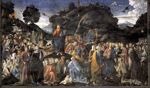 Cosimo Rosselli Sermone della Montagna