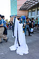 Cosplayer of Blue Long Kui (Jiang Princess), Chinese Paladin 3 Left View in FF24 20140727.jpg