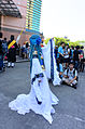 Cosplayer of Blue Long Kui (Jiang Princess), Chinese Paladin 3 Right View in FF24 20140727.jpg