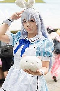 Cosplayer of Chino Kafū, Is the Order a Rabbit? 20160827b.jpg