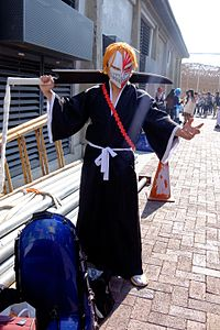 Cosplayer of Ichigo Kurosaki, Bleach at FFK8 20151129.jpg