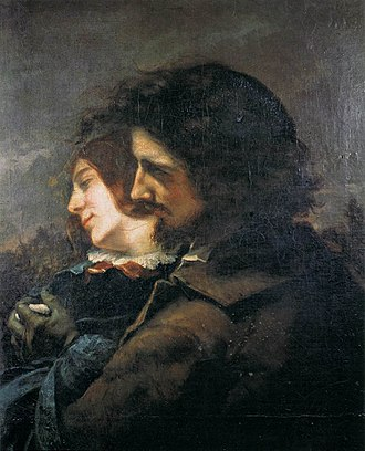 The Happy Lovers - Image: Courbet Amants Lyon