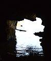 Cova Tallada, boca d'accés a la sala inundada.JPG