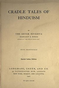 Cradle Tales of Hinduism title page