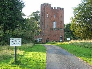 Cranbourne Lodge former house in Windsor Great Park, London, England