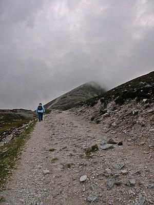Pattern (devotional) - Pilgrimage path at Croagh Patrick