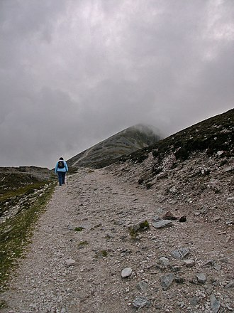 Pattern (devotional) - Pilgrimage path at Croagh Patrick