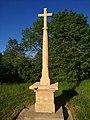Croix du col de Saint-Bonnet, à Montmelas-Saint-Sorlin (Rhône), mai 2019.jpg